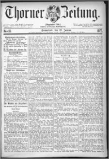 Thorner Zeitung 1877, Nro. 22