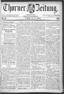 Thorner Zeitung 1877, Nro. 24