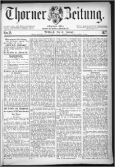 Thorner Zeitung 1877, Nro. 25