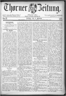 Thorner Zeitung 1877, Nro. 27