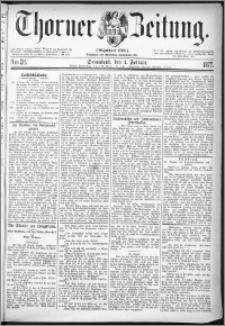 Thorner Zeitung 1877, Nro. 28