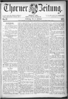 Thorner Zeitung 1877, Nro. 29 + Beilage