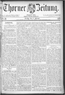 Thorner Zeitung 1877, Nro. 33