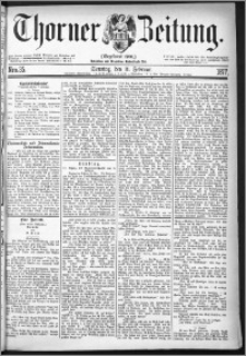 Thorner Zeitung 1877, Nro. 35 + Beilage
