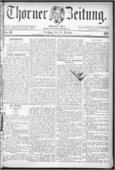 Thorner Zeitung 1877, Nro. 36