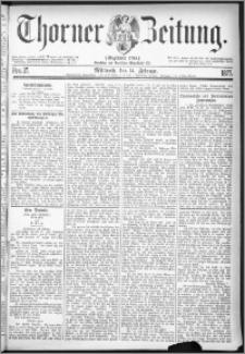 Thorner Zeitung 1877, Nro. 37