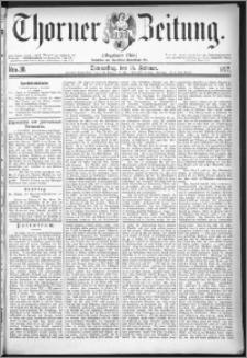 Thorner Zeitung 1877, Nro. 38