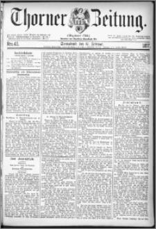 Thorner Zeitung 1877, Nro. 40
