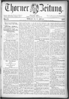 Thorner Zeitung 1877, Nro. 43