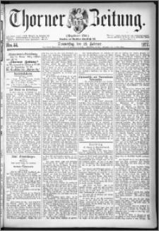 Thorner Zeitung 1877, Nro. 44