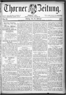 Thorner Zeitung 1877, Nro. 45