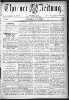 Thorner Zeitung 1877, Nro. 50