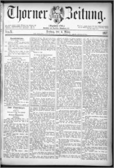 Thorner Zeitung 1877, Nro. 51