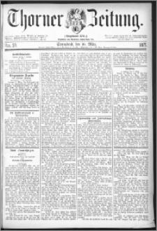 Thorner Zeitung 1877, Nro. 58