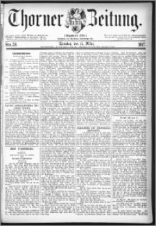 Thorner Zeitung 1877, Nro. 59 + Beilage