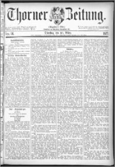 Thorner Zeitung 1877, Nro. 66