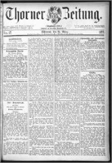 Thorner Zeitung 1877, Nro. 67