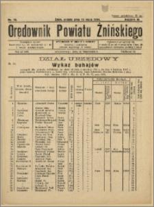 Orędownik Powiatu Żnińskiego 1934 Nr 10