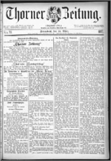 Thorner Zeitung 1877, Nro. 70