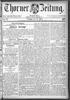 Thorner Zeitung 1877, Nro. 72