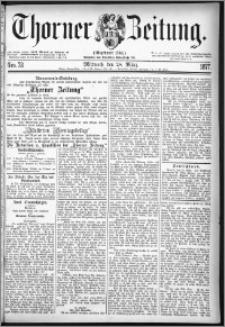 Thorner Zeitung 1877, Nro. 73