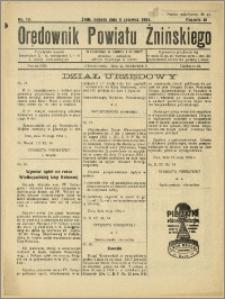 Orędownik Powiatu Żnińskiego 1934 Nr 13