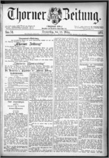 Thorner Zeitung 1877, Nro. 74
