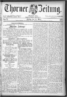 Thorner Zeitung 1877, Nro. 75
