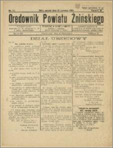 Orędownik Powiatu Żnińskiego 1934 Nr 14