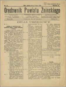 Orędownik Powiatu Żnińskiego 1934 Nr 15