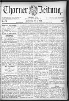 Thorner Zeitung 1877, Nro. 78