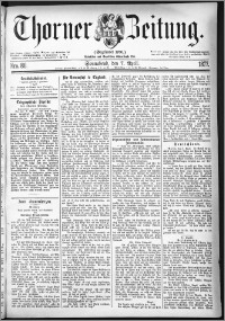 Thorner Zeitung 1877, Nro. 80
