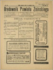 Orędownik Powiatu Żnińskiego 1934 Nr 19