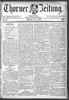 Thorner Zeitung 1877, Nro. 81 + Beilage