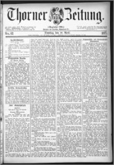 Thorner Zeitung 1877, Nro. 82