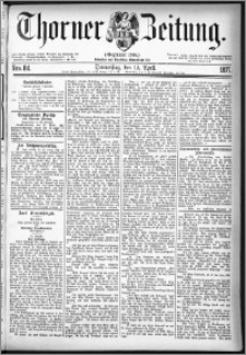 Thorner Zeitung 1877, Nro. 84