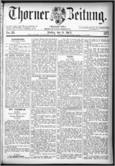 Thorner Zeitung 1877, Nro. 85