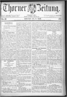 Thorner Zeitung 1877, Nro. 86