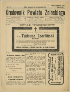 Orędownik Powiatu Żnińskiego 1934 Nr 22