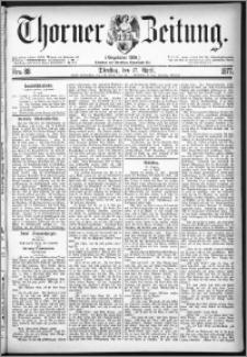 Thorner Zeitung 1877, Nro. 88