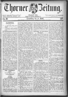 Thorner Zeitung 1877, Nro. 90