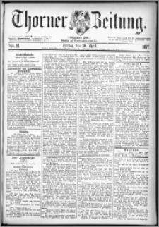 Thorner Zeitung 1877, Nro. 91