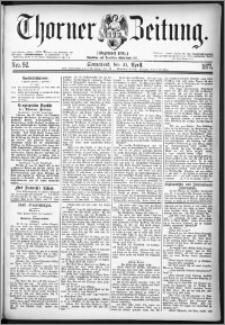 Thorner Zeitung 1877, Nro. 92