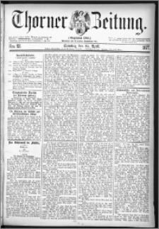 Thorner Zeitung 1877, Nro. 93 + Beilage