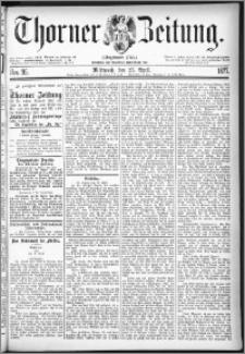 Thorner Zeitung 1877, Nro. 95