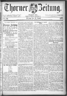 Thorner Zeitung 1877, Nro. 96