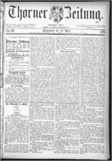 Thorner Zeitung 1877, Nro. 97