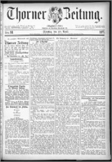 Thorner Zeitung 1877, Nro. 98 + Beilage