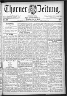 Thorner Zeitung 1877, Nro. 99