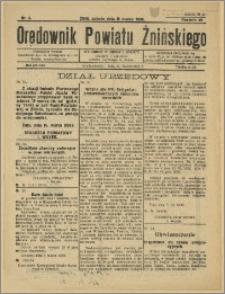 Orędownik Powiatu Żnińskiego 1935 Nr 5